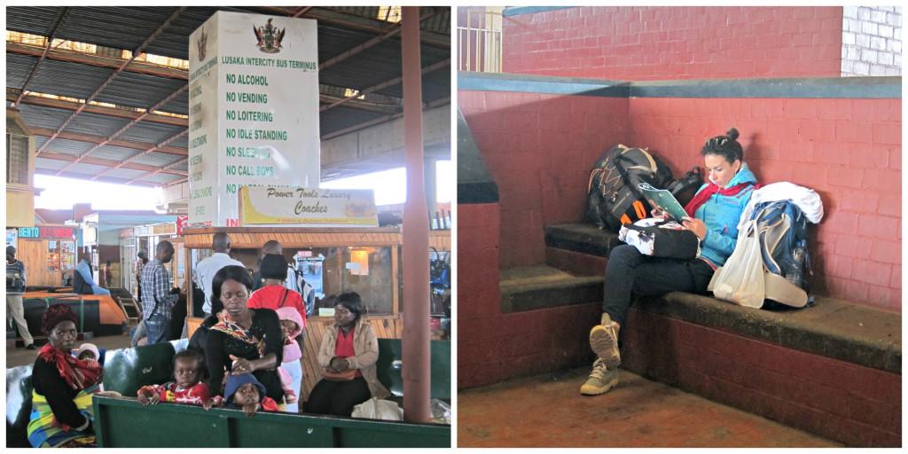Lusaka bus station