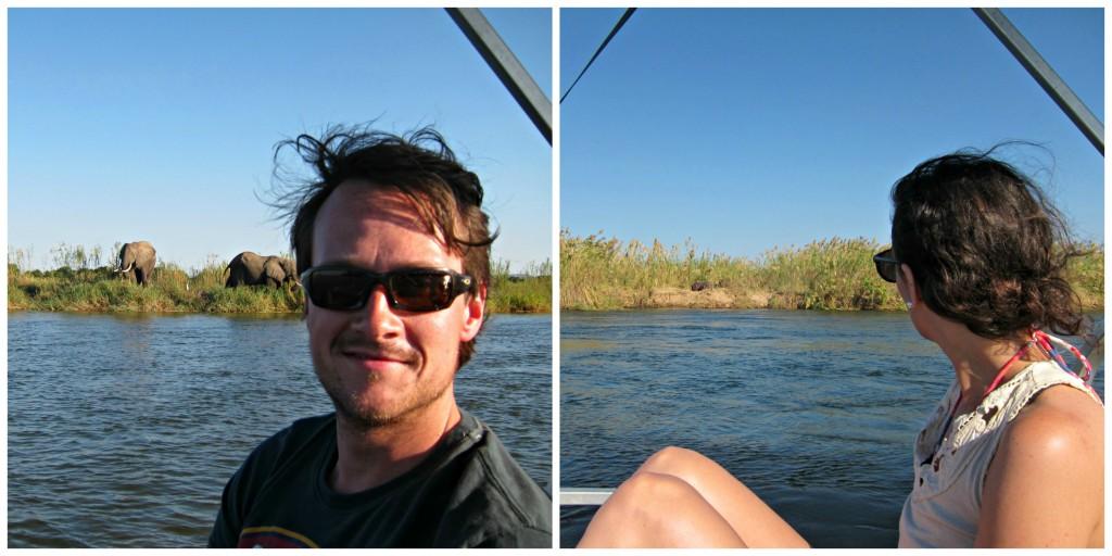On the Zambezi river