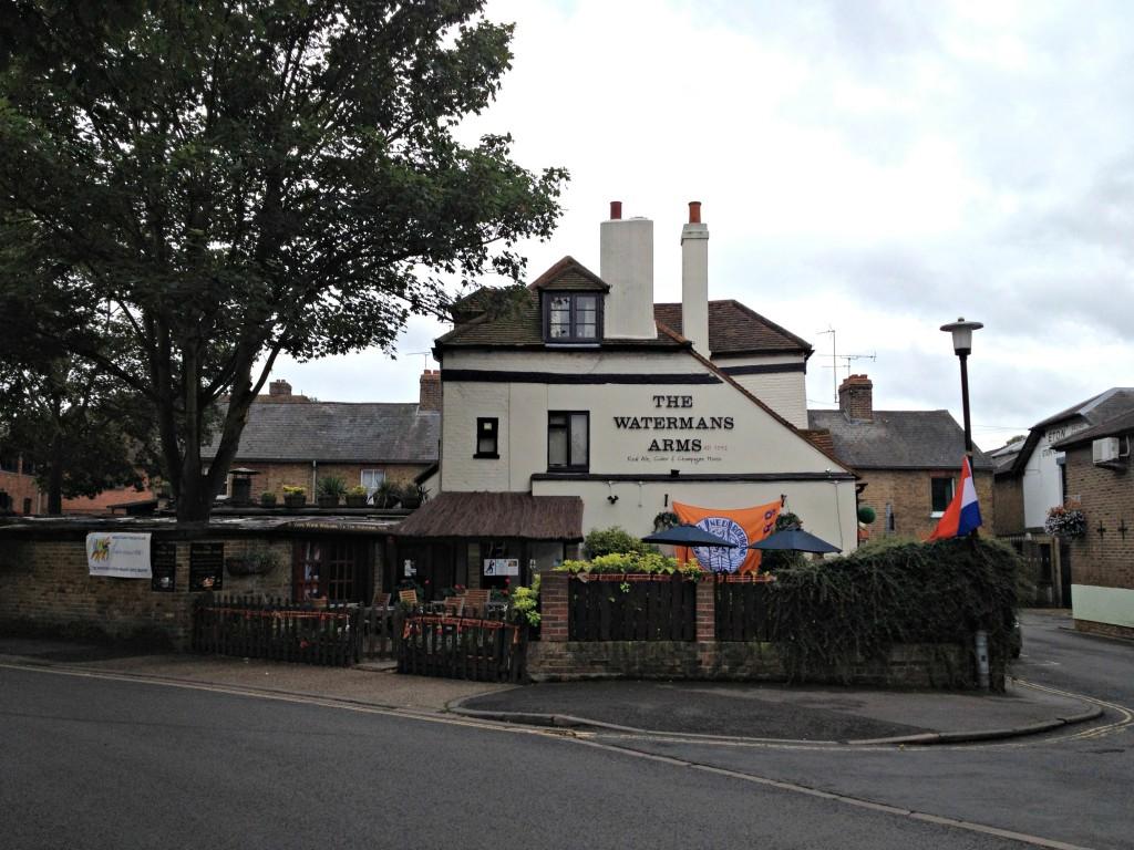 """""""Dutch"""" pub in Eton"""
