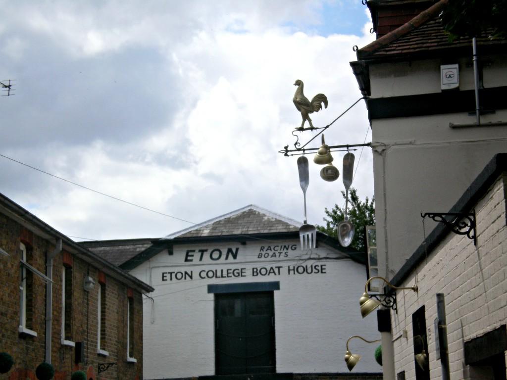 Eton College boat house