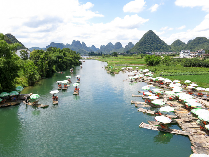 China Travel Yangshuo Karst Peaks