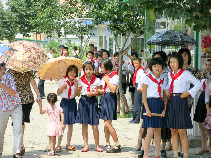 North Korea Pyongyang military parade victory day
