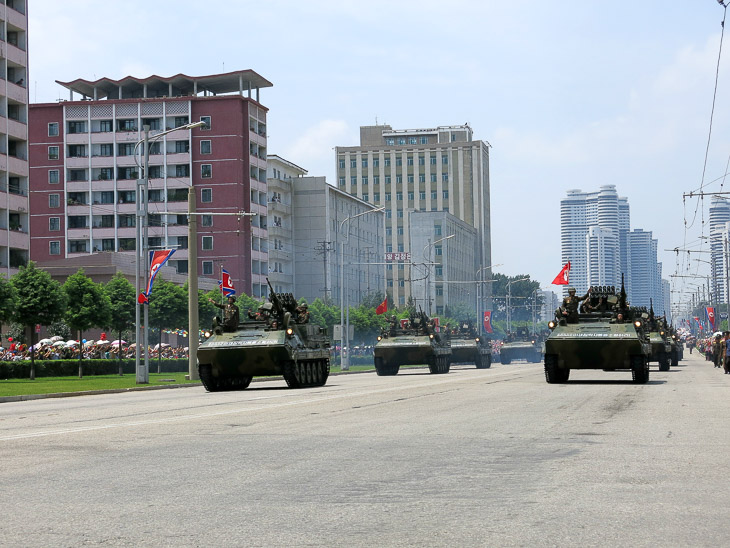 North Korea Pyongyang military parade victory day