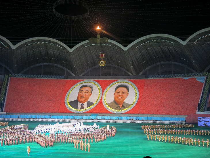 North Korea Pyongyang Arirang mass games