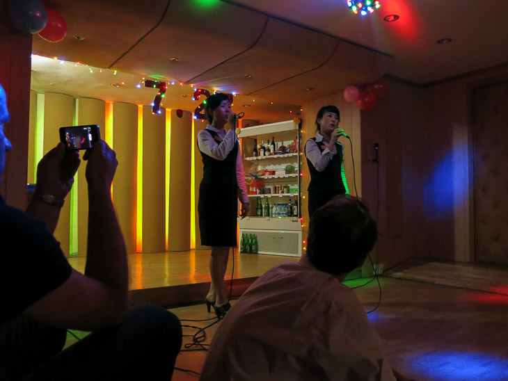 North Korea Pyongyang korean karaoke