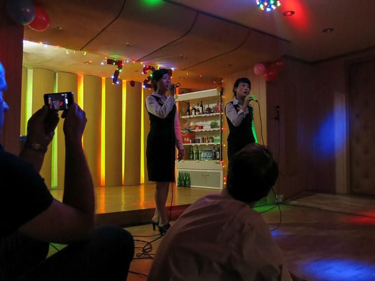 North Korea Pyongyang korean karaoke