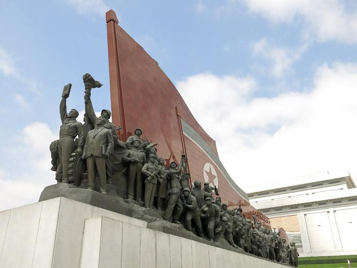 North Korea Pyongyang monument