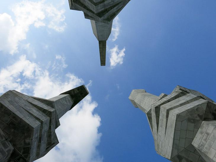 North Korea Pyongyang communist party foundation monument