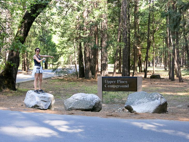 California Yosemite Travel Upper Pines Campground