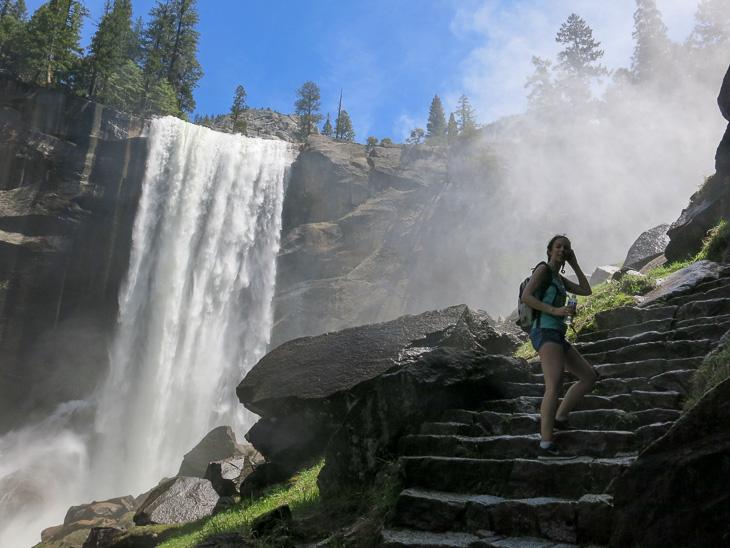 California Travel Yosemite National Park Mist Trail