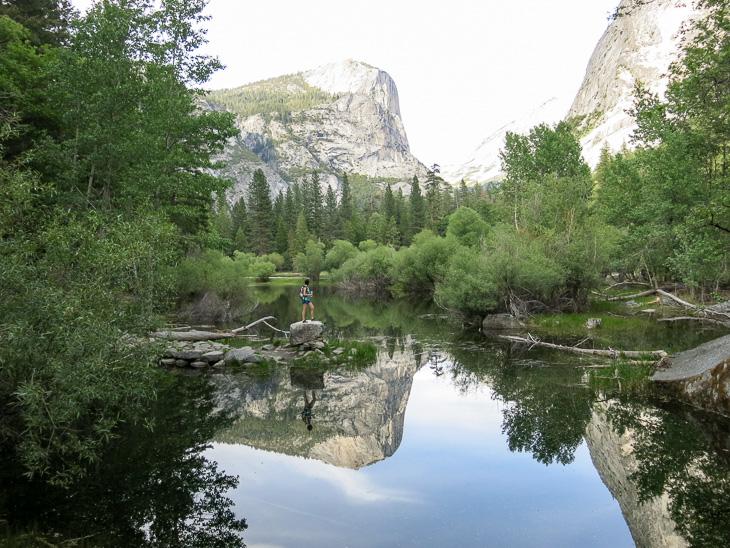 California Travel Yosemite National Park Mirror Lake