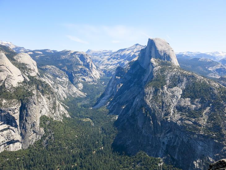 California Travel Yosemite National park Glacier Point