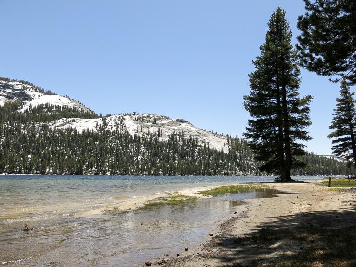 California Travel Yosemite National park Tenaya Glacier Lake