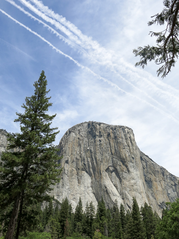El Capitan - the largest monolith of granite in the world