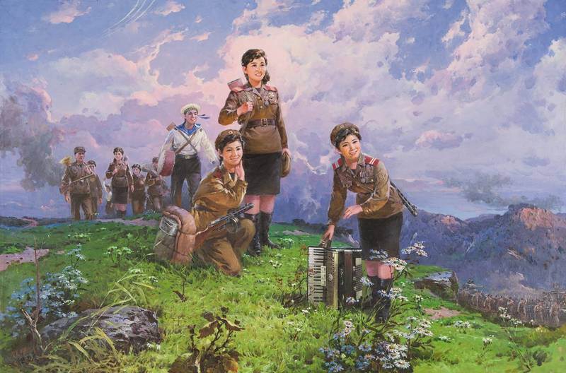 The Kim Utopia – Paintings from North Korea