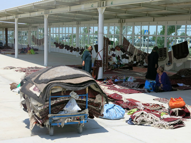 Altyn Asyr Bazaar Ashgabat Turkmenistan