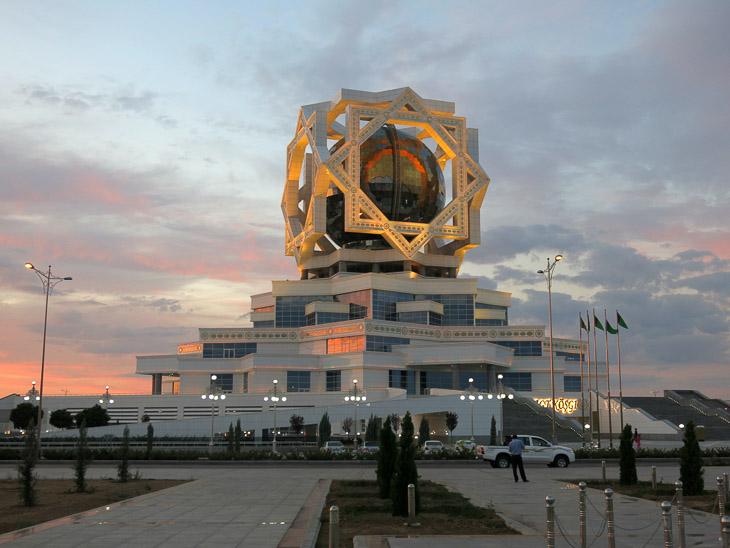 Wedding palace Ashgabat Turkmenistan