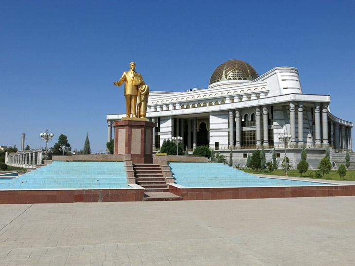 Mary Turkmenistan Turkmenbashi