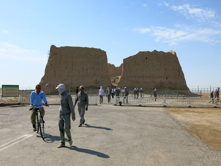 Great Kyz Kala Merw Turkmenistan