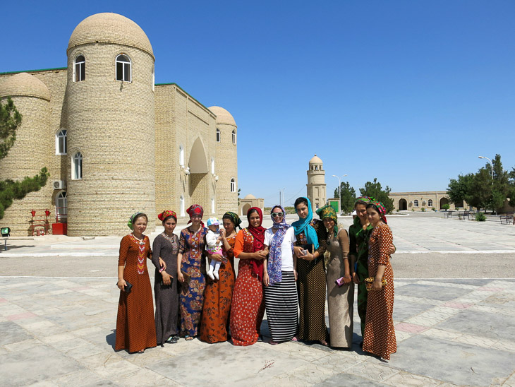 Traditional dress Merw Turkmenistan