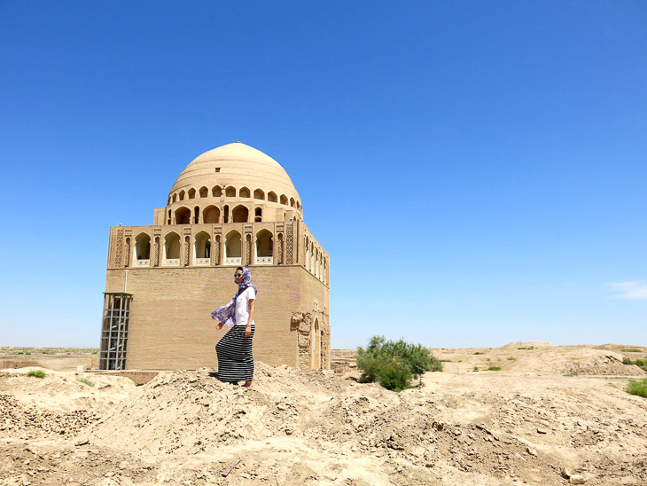 Sultan Sanjar Mausoleum Merw Turkmenistan