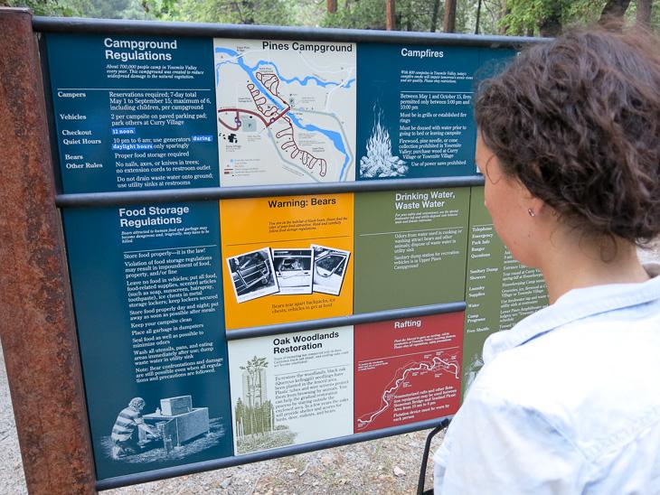 California Travel Yosemite National park Bear Rules