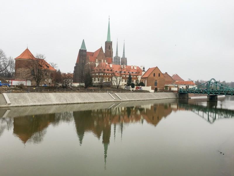 Wroclaw Poland Rynek Cathedral