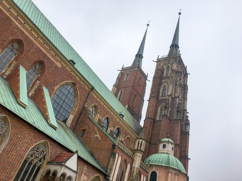 Wroclaw Poland Rynek Cathedral Island