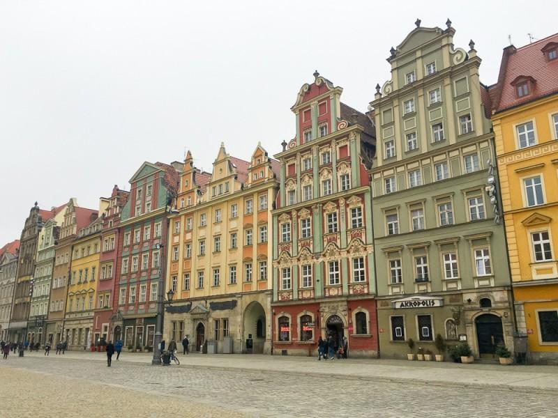Wroclaw Poland Rynek