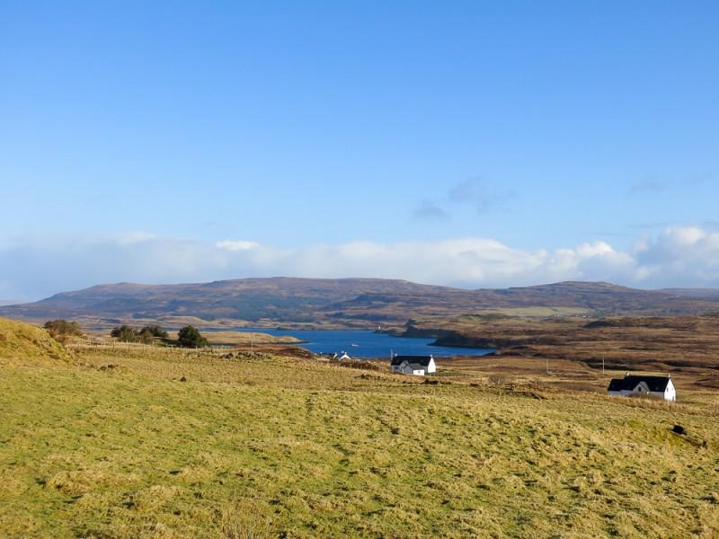 Isle Of Skye Scotland Island Travel Black Shed