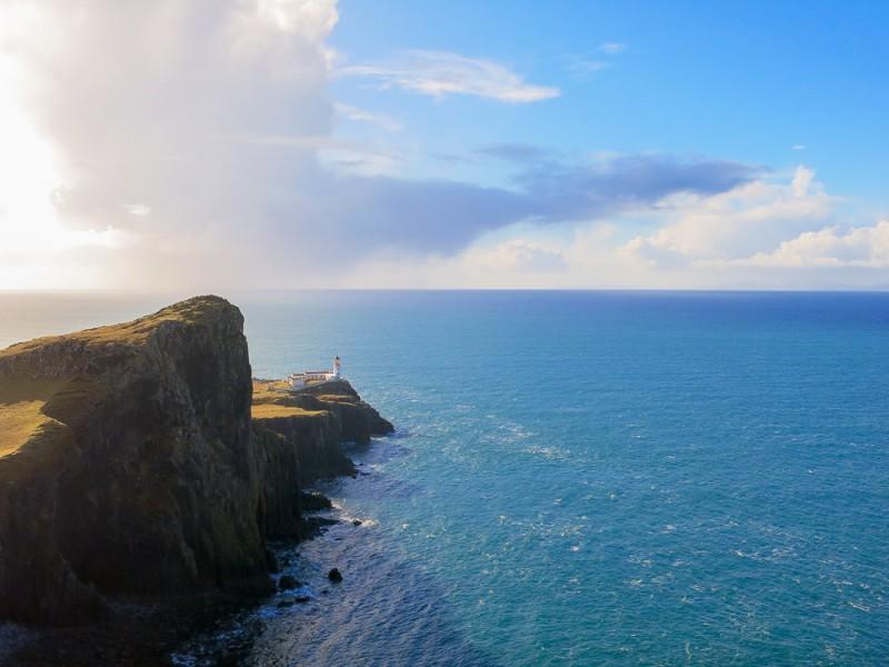 Isle Of Skye Scotland Highlands Travel Neist Point Lighthouse