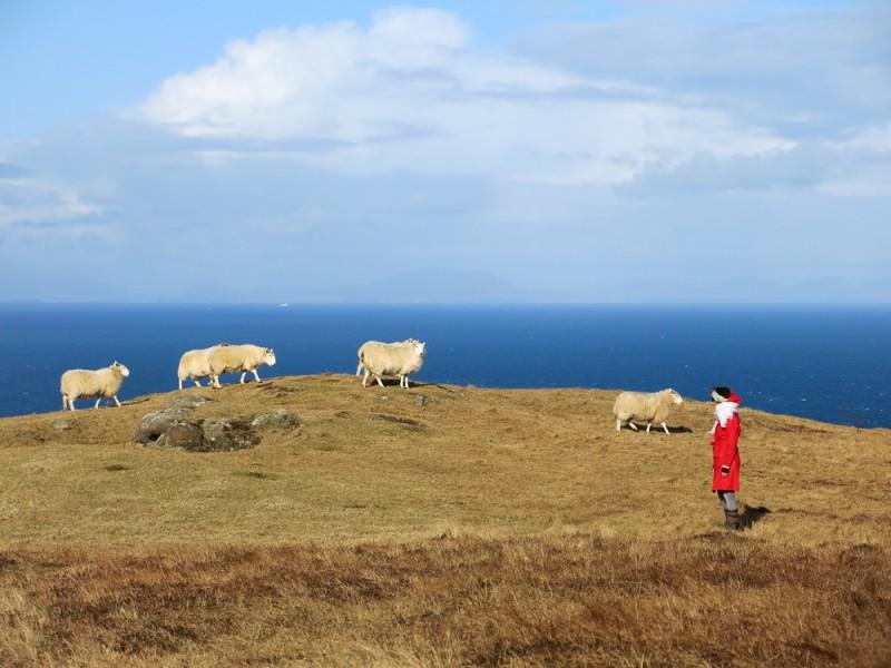 Isle Of Skye Scotland Highlands Travel Neist Point