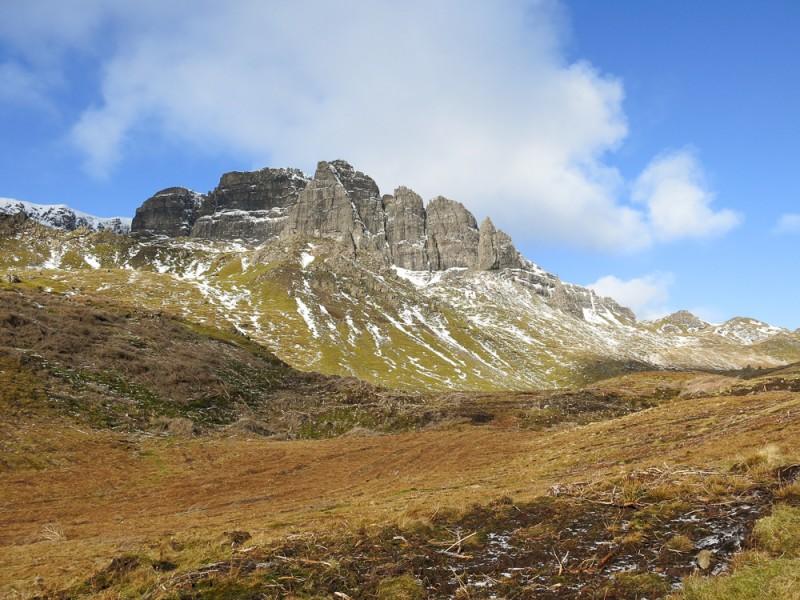 Isle Of Skye Scotland Highlands Travel Old Man Of Storr
