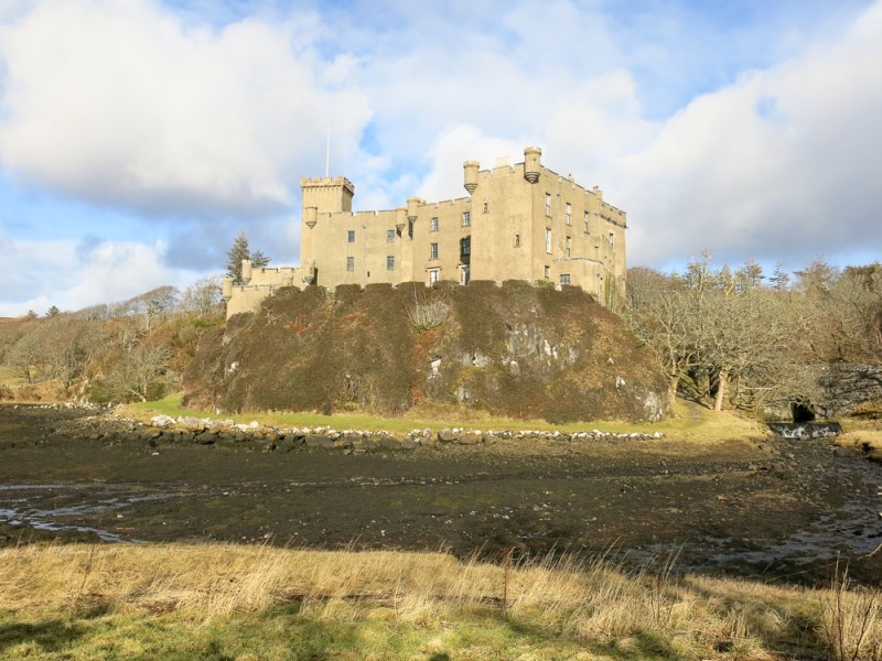 Isle Of Skye Scotland Island Travel Dunvegan Castle