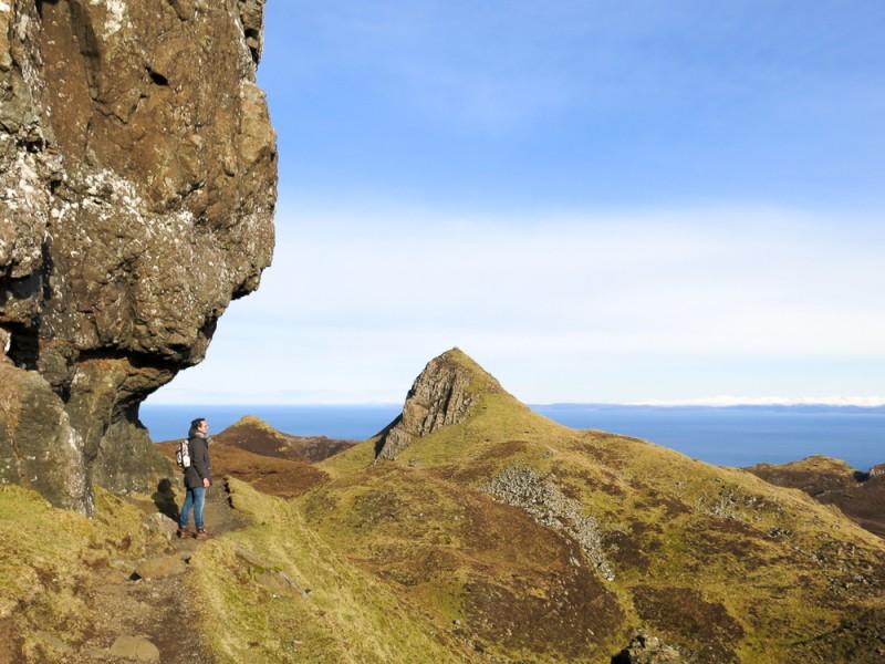 Isle Of Skye Scotland Highlands Travel Quiraing