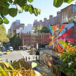 NYC Honeymoon Road Trip USA New York High Line Street Art Kobra