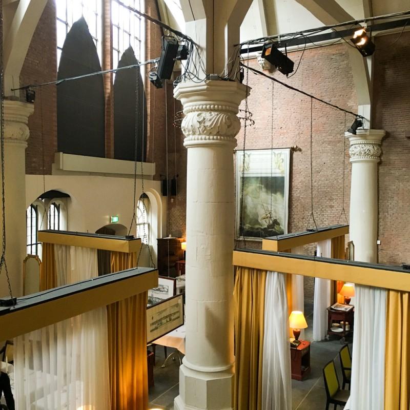 Roomservice Olof's Amsterdam Olofskapel Restaurant