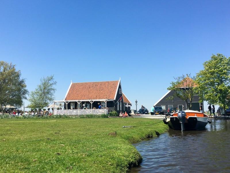 Amsterdam Holland Waterland Netherlands Platteland Nederland Countryside Overleek Theetuin