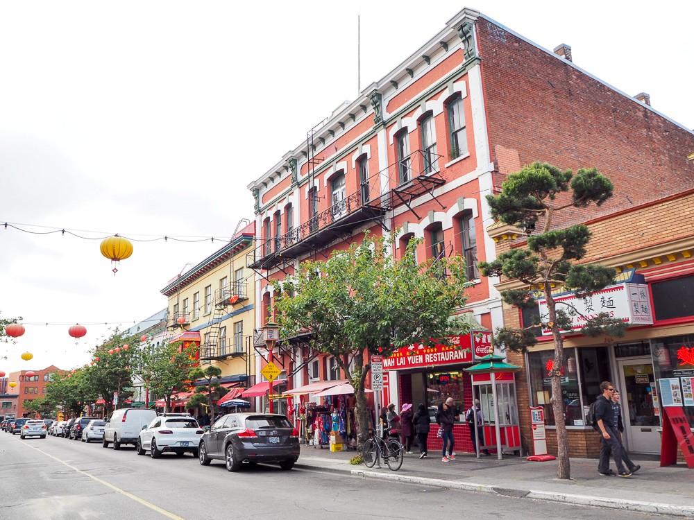 Canada Victoria Vancouver Island Road Trip Chinatown