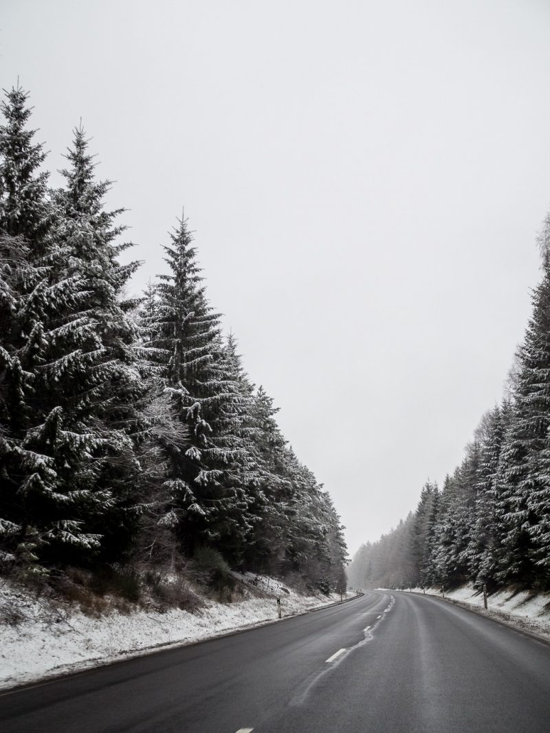 Germany Hochwald Eifel Travel Winter
