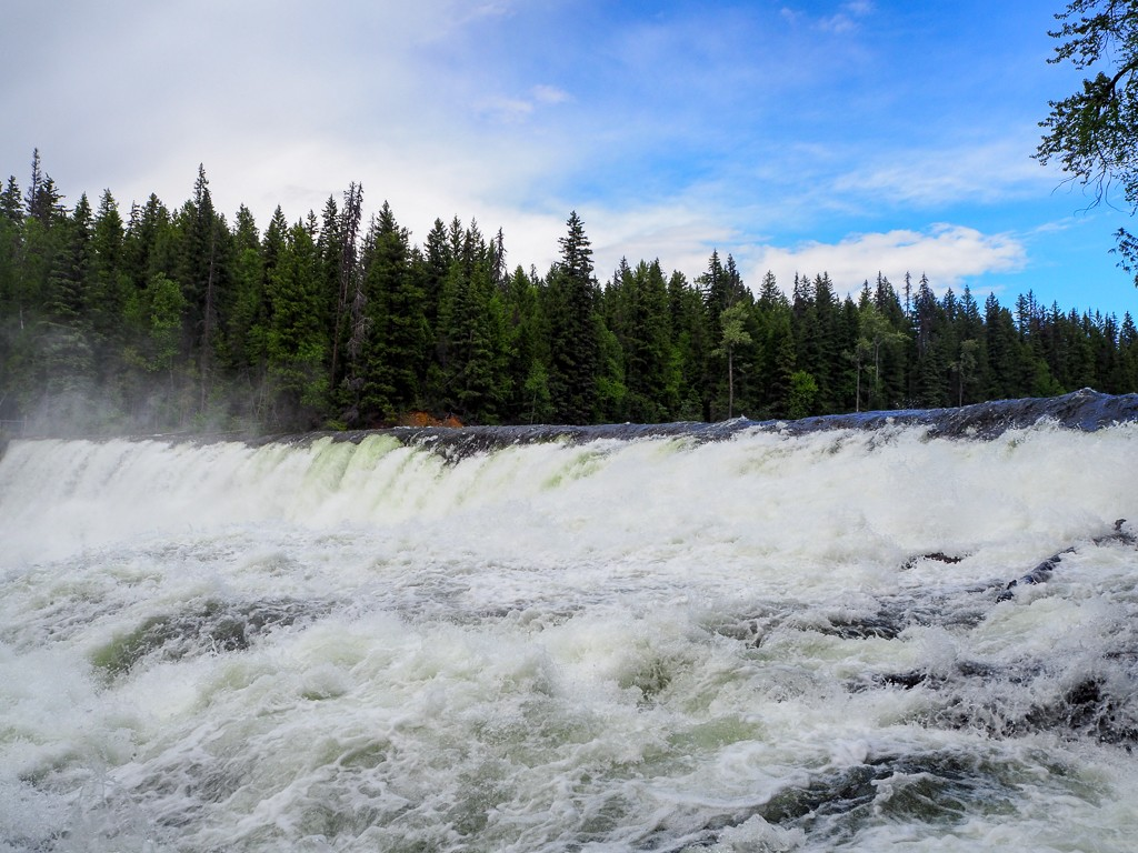 Canada, Wells Gray, British Columbia, Travel, Road Trip, Dawson Falls, Waterfall