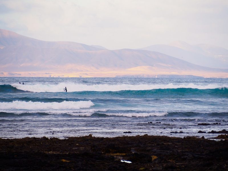 Fuerteventura surfing travel canary islands Rocky Point