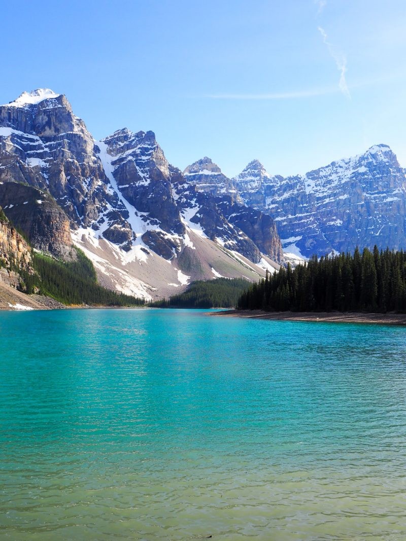 Canada Rocky Mountains Canadian Rockies Banff Moraine Lake