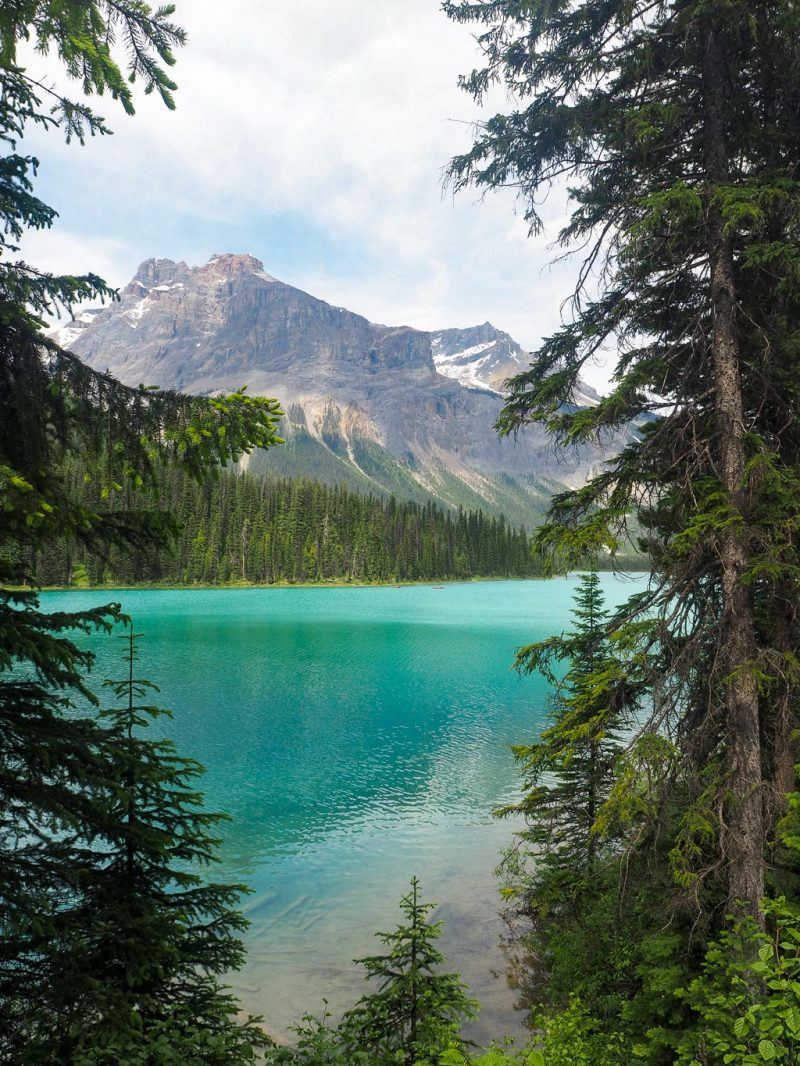 Canada Rocky Mountains Canadian Rockies Yoho Emerald Lake