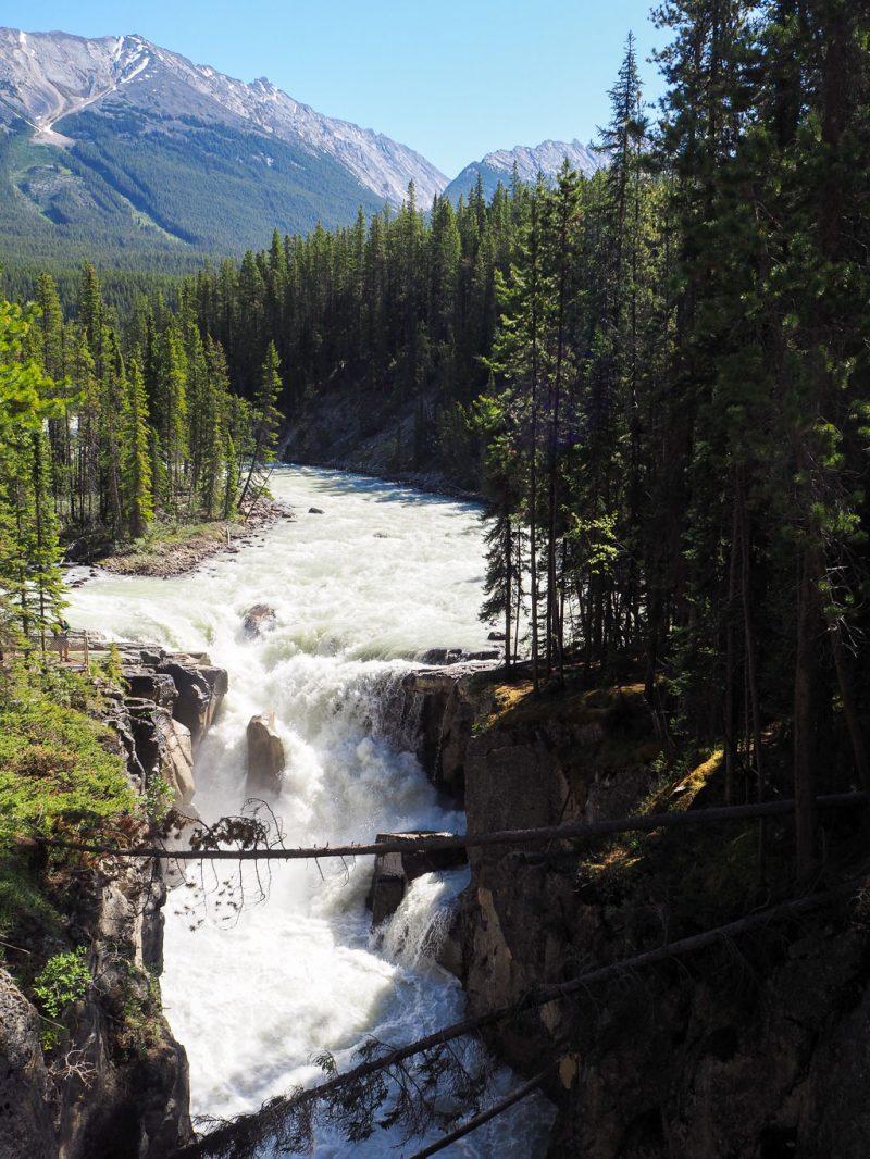 Canada Rocky Mountains Canadian Rockies Sunwapta Falls Jasper