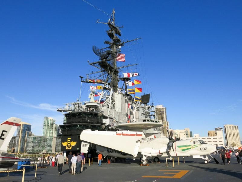 Travel San Diego California USA USS Midway