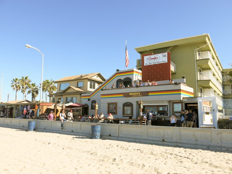 Travel San Diego California USA Woody's Pacific Beach