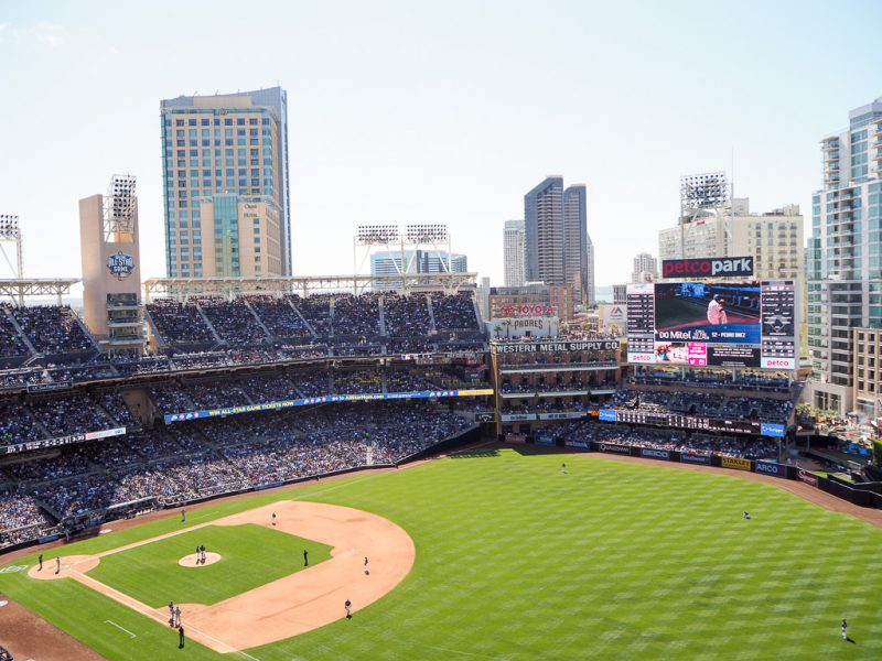Travel San Diego California USA Petco Park Padres