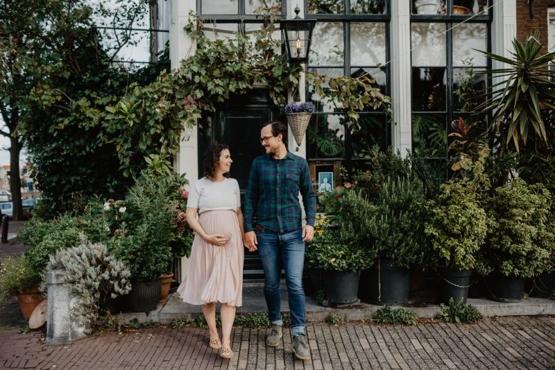 Pregnancy Shoot Amsterdam Silvia Falcomer