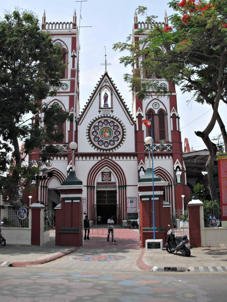 Yes, a Catholic church in India